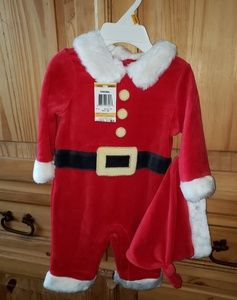 NWT Infant Boy Santa Outfit